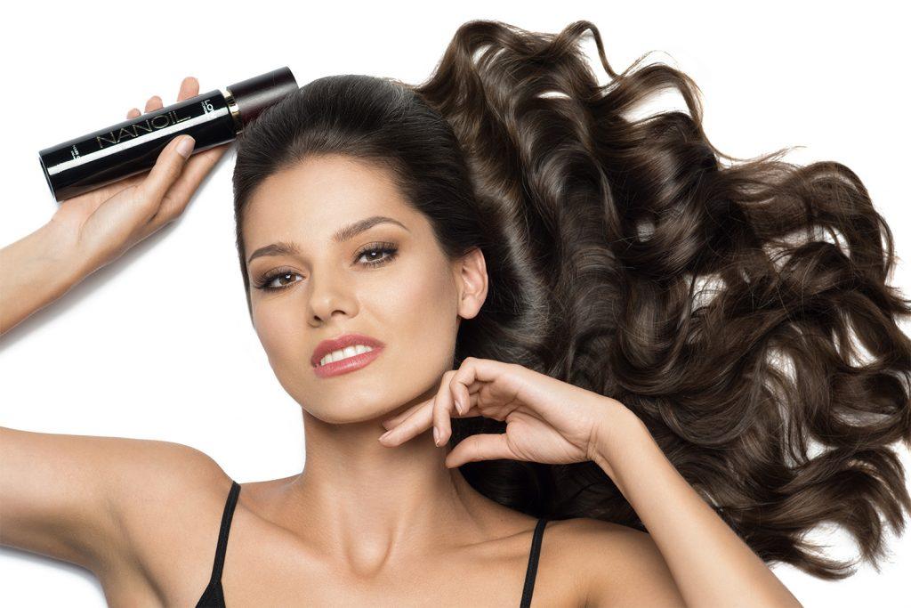 hiusten öljyäminen Nanoil